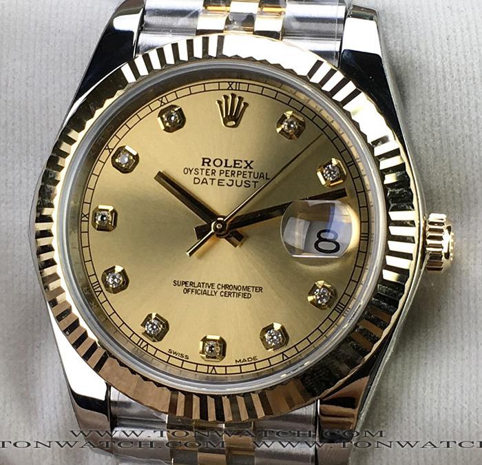 ROLEX Datejust 41MM YELLOW GOLD