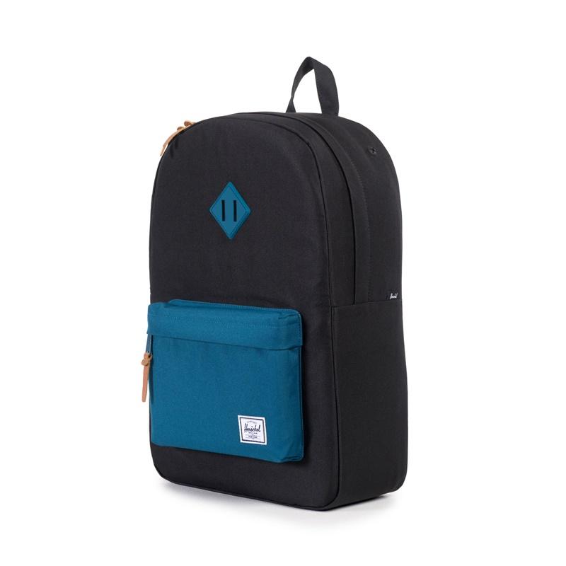Herschel Heritage Backpack - Black/Ink Blue