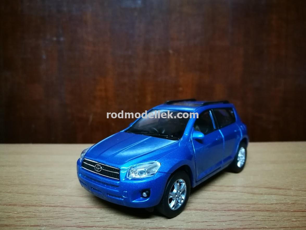 รถโมเดล Toyota RAV Gen 3 สีฟ้า