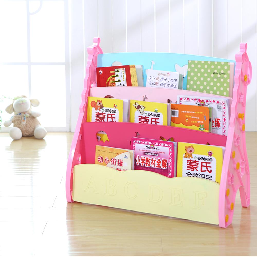 Kids Bookshelf ชั้นวางหนังสือโชว์ปก 3 ชั้น รุ่นยีราฟ