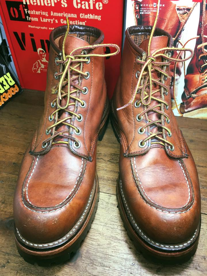 Red wing 8131 Custom sole size 9.5E