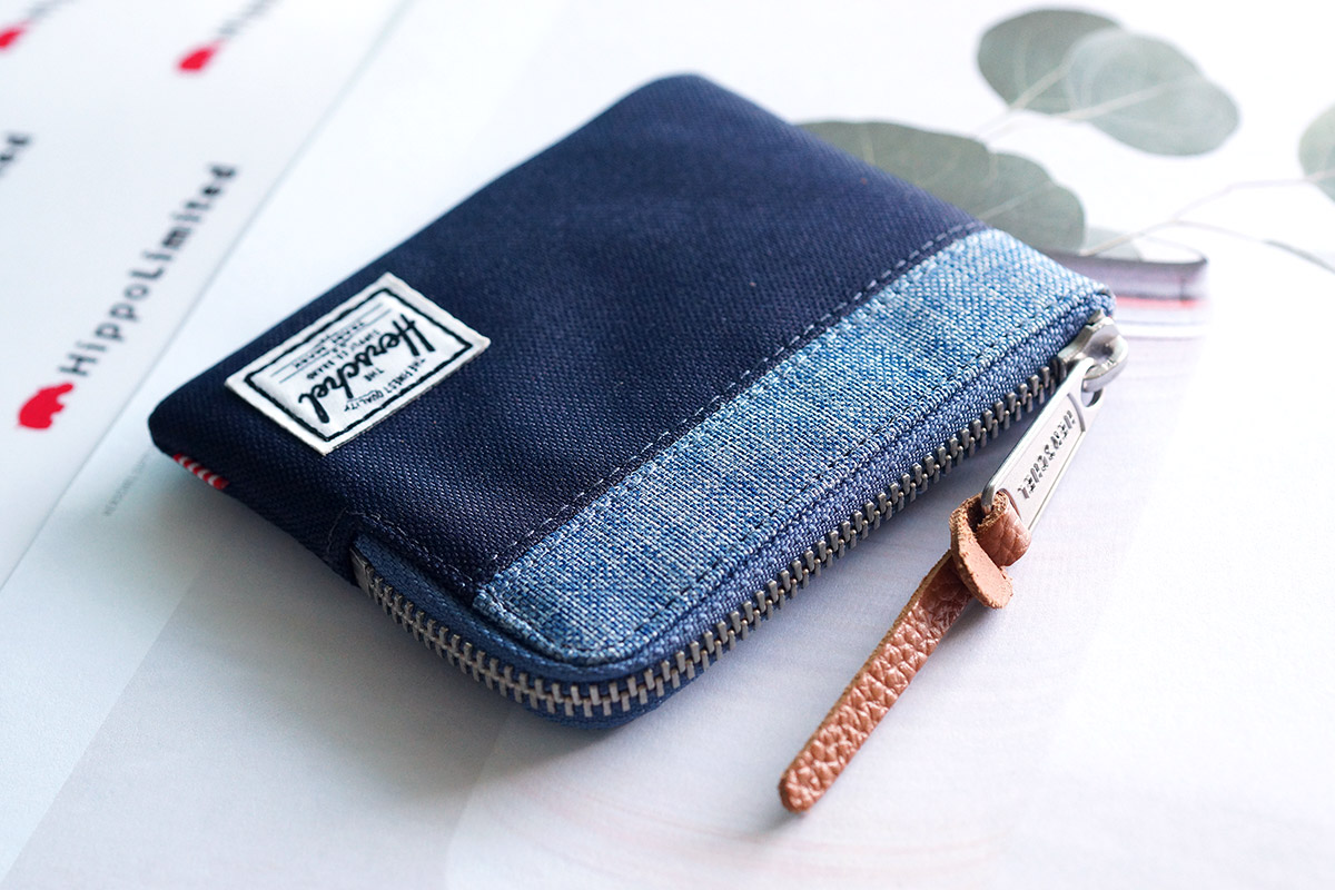 Herschel Johnny Wallet - Peacoat / Limoges Crosshatch