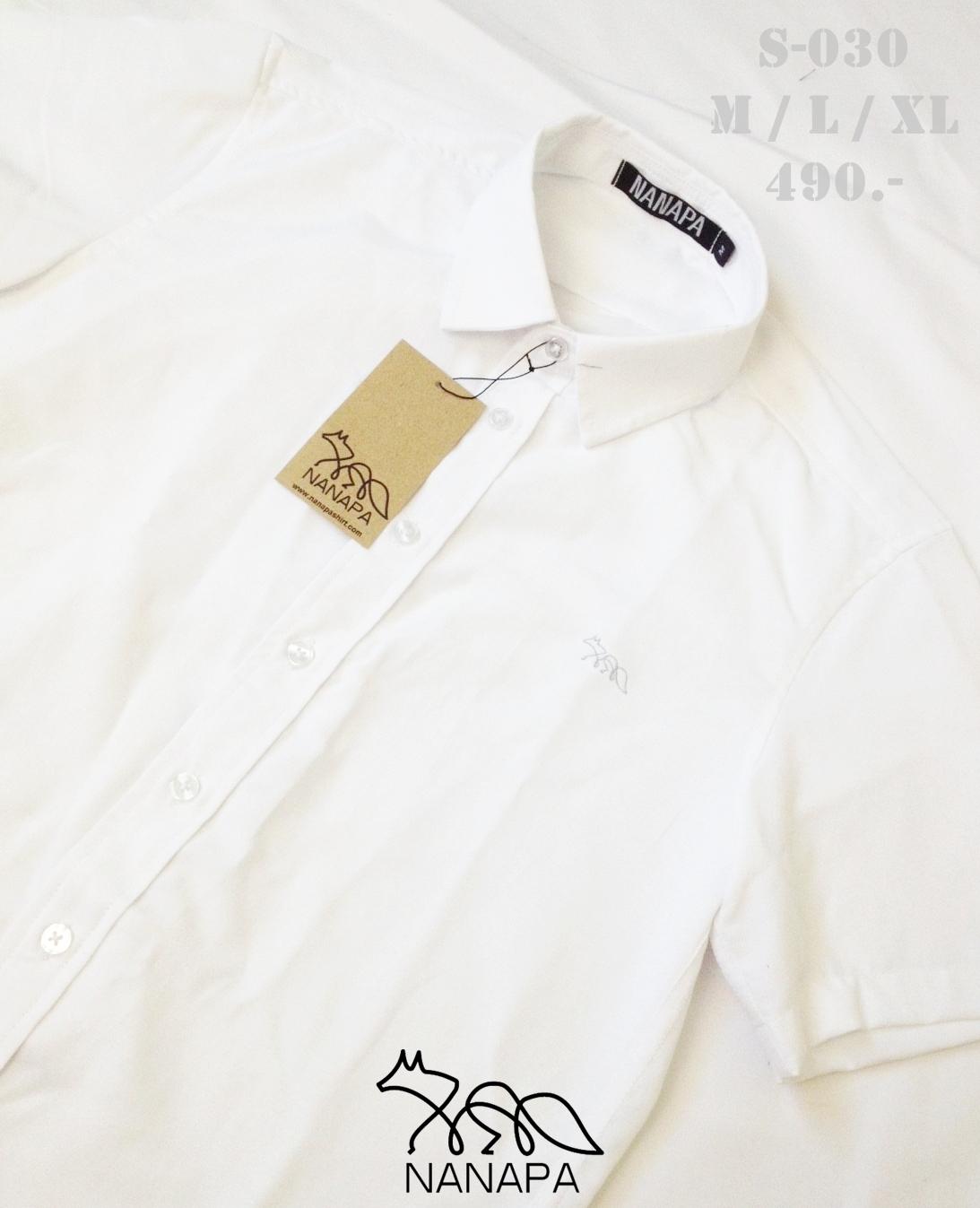 เสื้อเชิ้ตแขนสั้น ชาย NANAPA Shirts S-030
