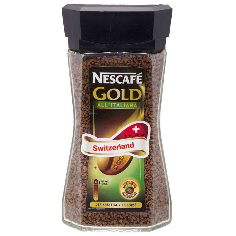 เนสกาแฟ โกลด์ออลอิตาเลียนา (Nescafe Gold All Italiana)