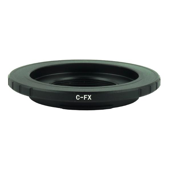 C-FX Lens Mount Adapter แปลงเลนส์ CCTV C เมาท์ ให้สามารถใช้งานได้กับกล้อง Fujifilm FX Camera