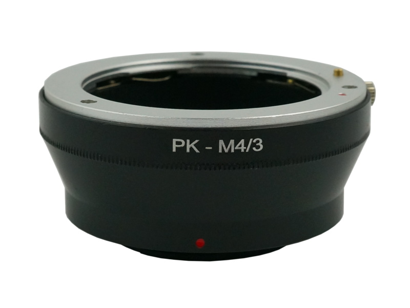 PK-M4/3 Mount Adapter Pentax PK Lens to Olympus Panasonic Micro 4/3 MFT Camera
