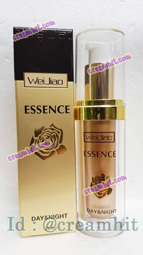 เหว่ยเจียวเอสเซ็น เซรั่มเจล สีทอง ของแท้ ราคาส่งถูก WEIJIAO Essence Day&Night 25ml.