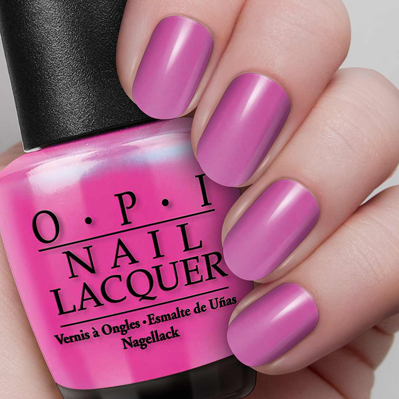 O.P.I Nail Lacquer #OPI Hotter Than You Pink