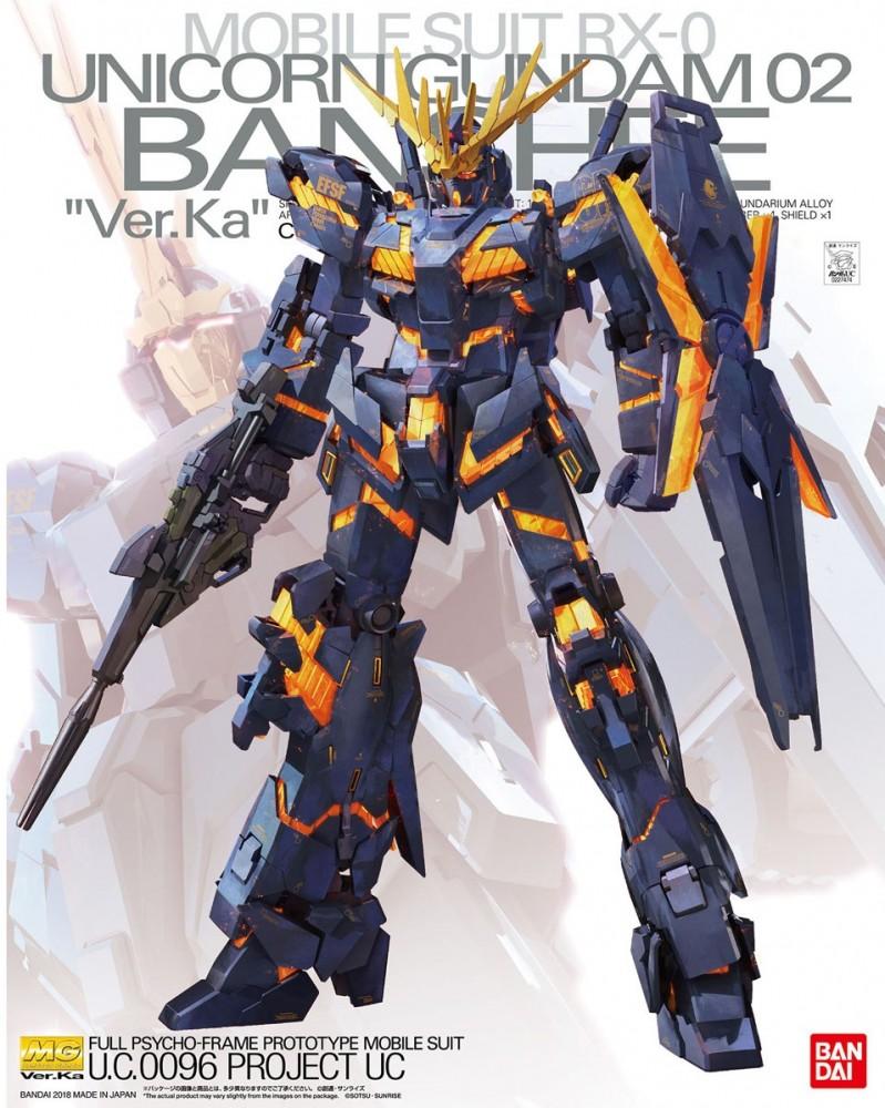 MG 1/100 UNICORN GUNDAM 02 BANSHEE Ver.Ka 5000yen