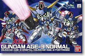 (เหลือ 1 ชิ้น รอเมล์ฉบับที่2 ยืนยัน ก่อนโอน) BB372 GUNDAM AGE-3 (NORMAL/FORTRESS/ORBITAL)