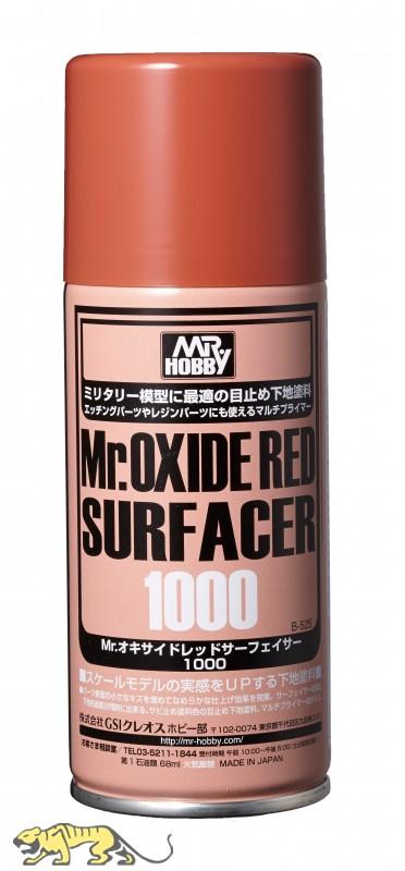 (เหลือ 1 ชิ้น รอยืนยันก่อนโอน) b-525 mr.oxide red surfacer1000 (170ml.)