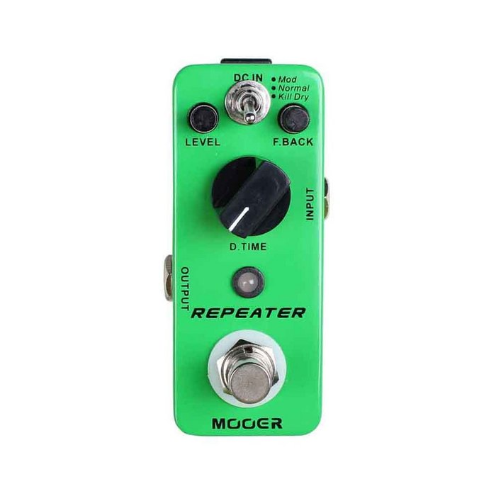 Mooer Repeater - 3 Modes Digital Delay Pedal