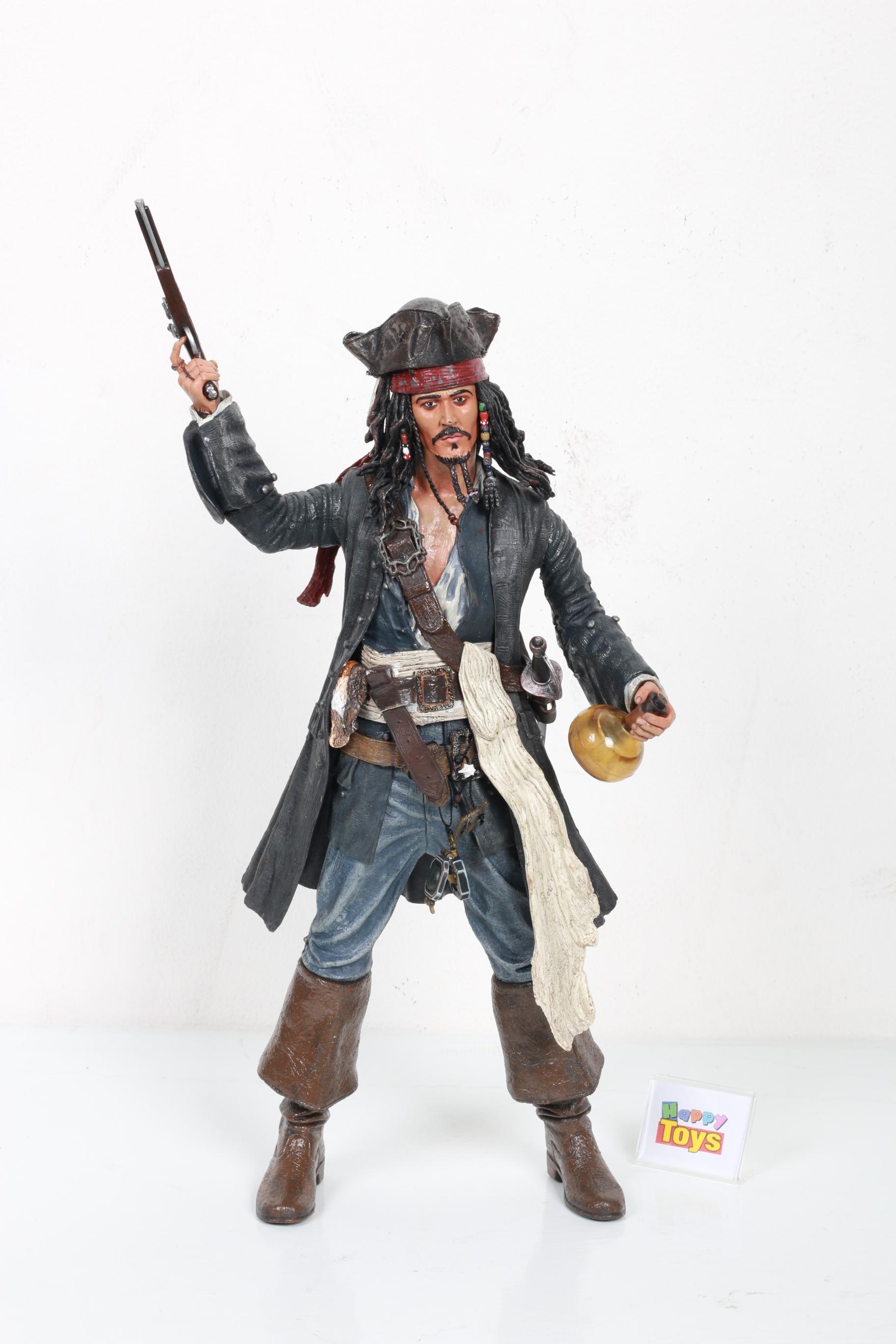 Captain Jack Sparroew กัปตัน เจก สเปโล่ Pirates of the Caribbean Dead Man's Chest