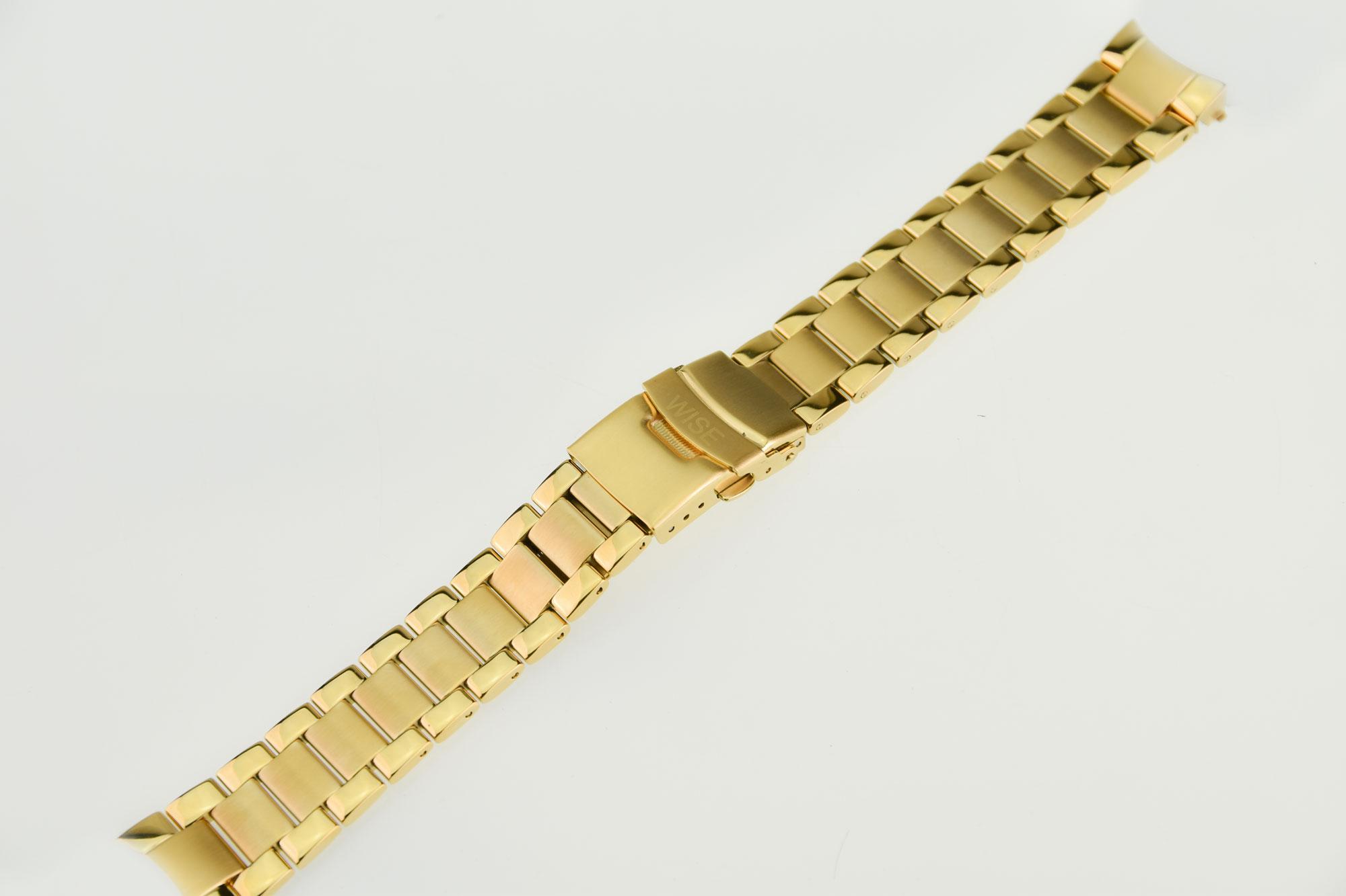 สายสแตนเลสสีทอง ขนาดรุ่น 40 mm.