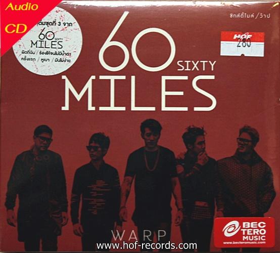 CD 60 Sixty Miles * New