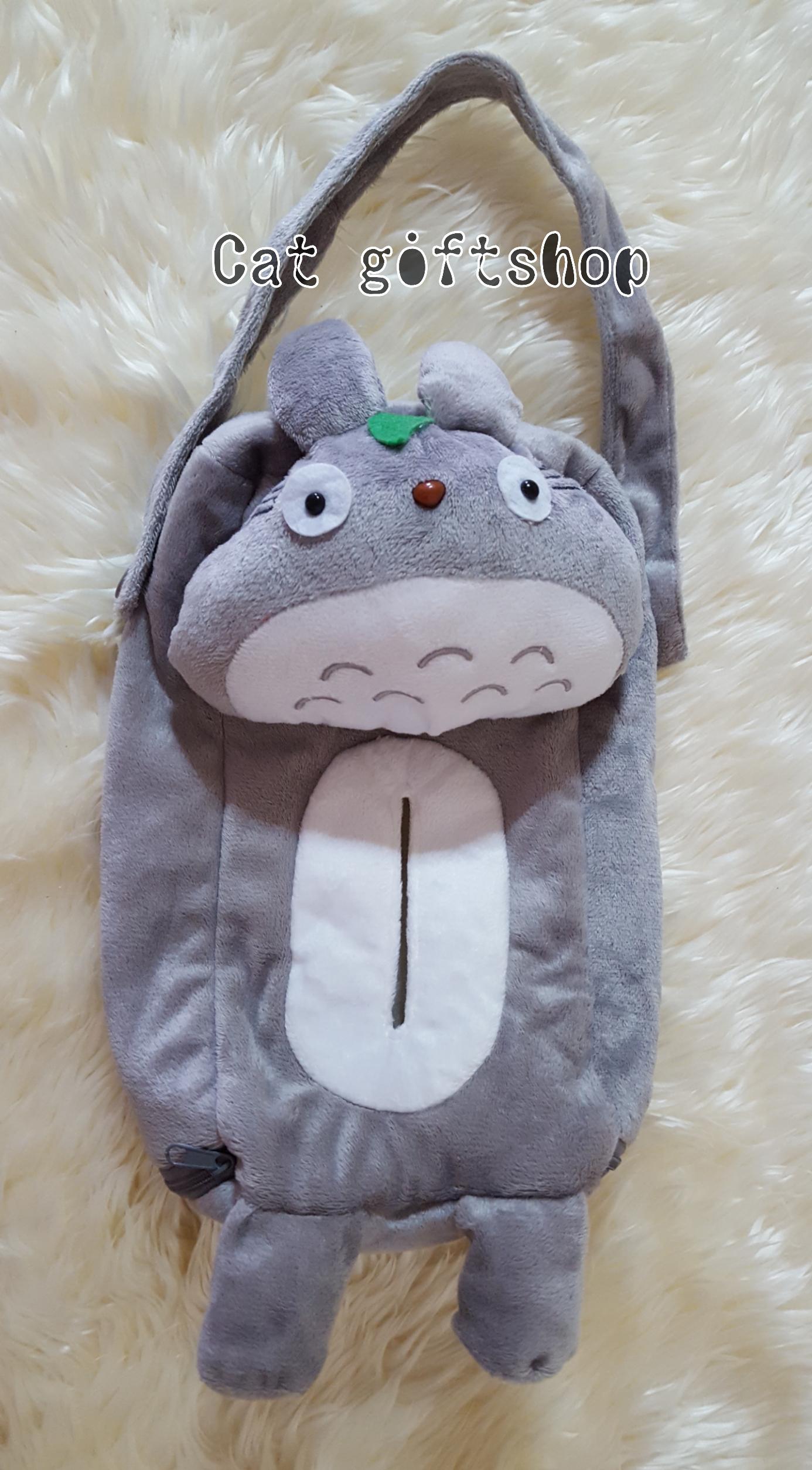 พร้อมส่ง :: ที่ใส่ทิชชู่แบบแขวนในรถยนต์ Totoro