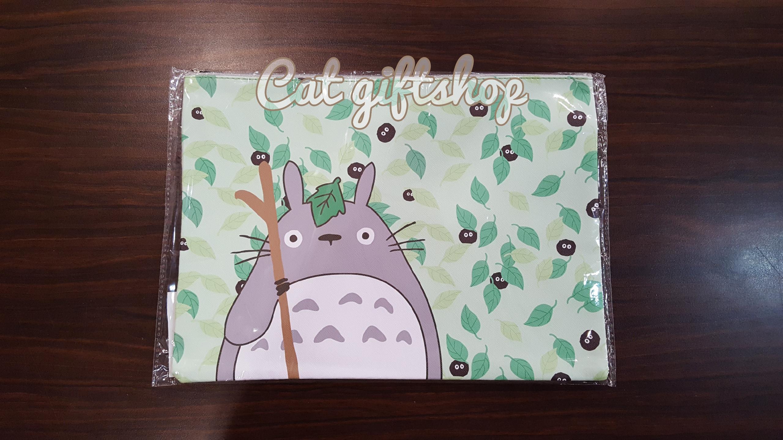 พร้อมส่ง :: กระเป๋าใส่เอกสาร A4 ลาย Totoro2