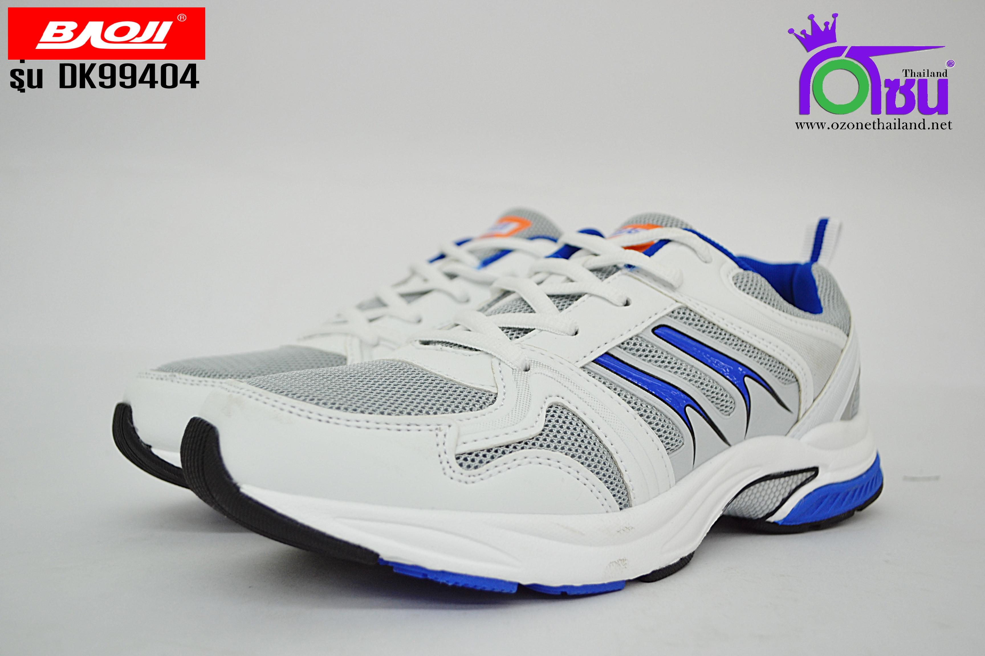 รองเท้าวิ่งบาโอจิ BAOJI รุ่น DK99404 สีขาวน้ำเงิน เบอร์41-45