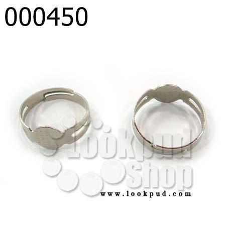 โครงแหวน (แบบฐานติดกาว) 10 วง
