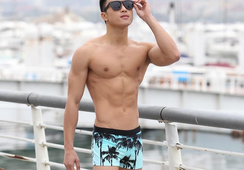 PRE กางเกงว่ายน้ำชายชายหาด