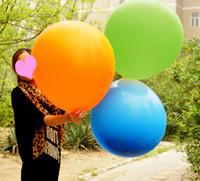 """ลูกโป่งกลม สีฟ้าเข้ม ไซส์ 18 นิ้ว จำนวน 1 ใบ (Round Balloon - Blue Color 18"""")"""