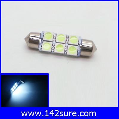 LFC045 ไฟใช้สำหรับตกแต่งรถยนต์ 6LED SMS5050 12VDC สีฟ้า ใช้ได้ทั้งภายนอกและภายใน