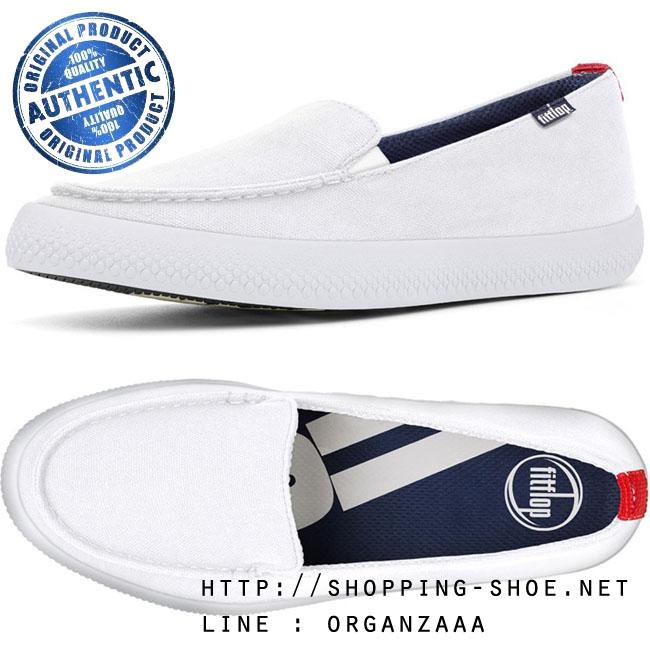 Fitflop Sunny Loafers White ของแท้ นำเข้าจาก USA และ UK