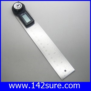 MSD024 ไม้บรรทัด เครื่องวัดองศาดิจิตอล มิเตอร์วัดองศา มิเตอร์วัดองศาดิจิตอล 360 องศา ความละเอียด0.1องศา 2in1 Digital Angle Finder Meter