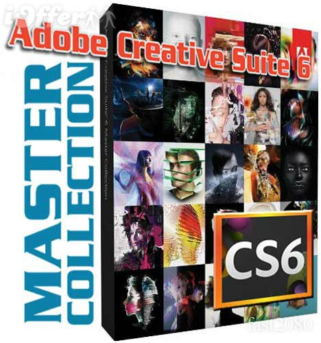 Adobe CS6 Master Collection (DVD9)