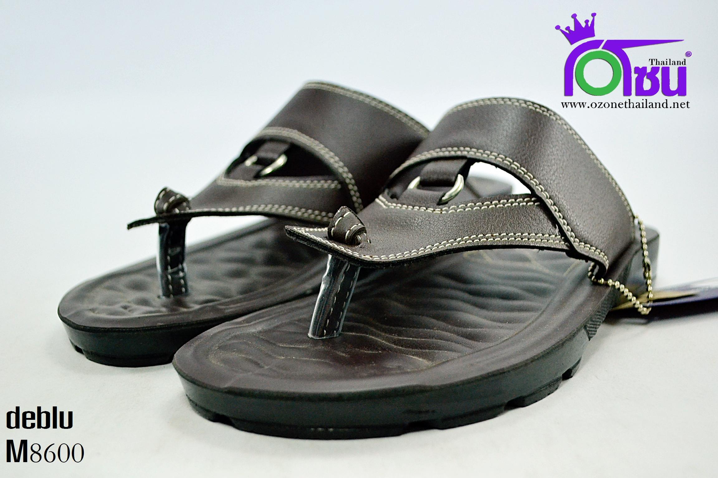 รองเท้า เดอบลู deblu รุ่น M8600 สีน้ำตาล เบอร์ 39-44