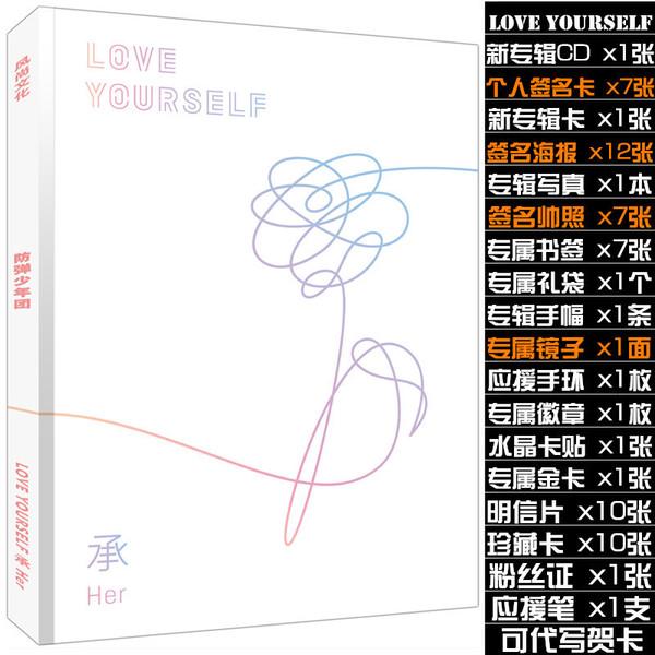 โฟโต้บุค #BTS LOVE YOURSELF (โปสการ์ด โปสเตอร์)
