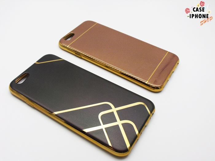 เคส tpu ขอบเงาโครเมียมลายกราฟฟิก ไอโฟน 6/6s 4.7 นิ้ว