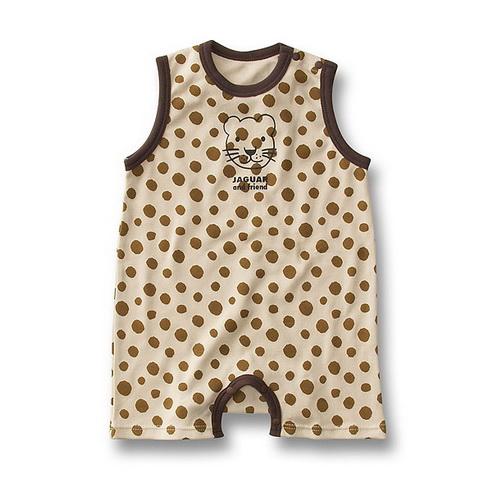 BS003 BUSHA เสื้อผ้าเด็ก ชุดหมี บอดี้สูท แฟนซี เนื้อนิ่ม ลายเสือน้อย เหลือ Size 90/95