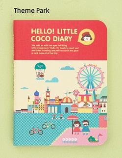 Hello! Little COCO Diary 2015 - THEME PARK