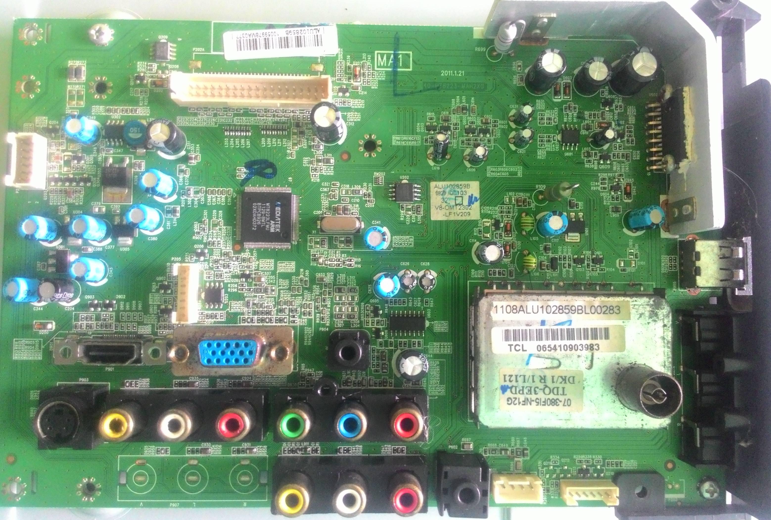 เมนบอร์ด TCL L32E11