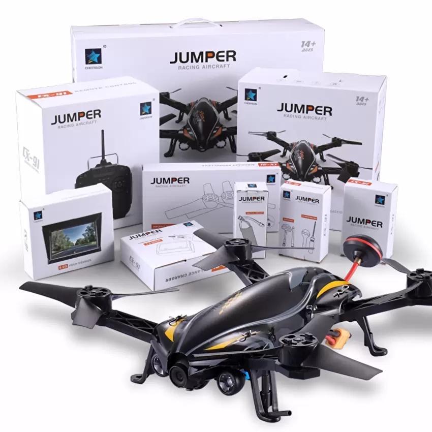โดรนเรซซิ่ง โดรนติดกล้อง ความเร็วสูง Cheerson CX-91 JUMPER High Speed + Camera FPV 5.8ghz