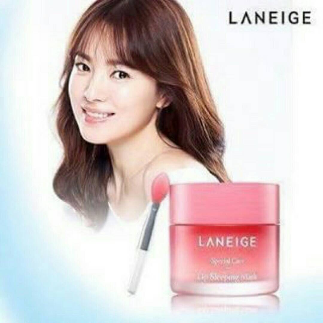 Laneige Lip Sleeping Mask with Lip Brush ขนาด 20 กรัม