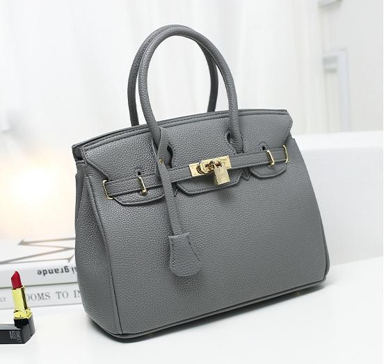 กระเป๋าสะพายข้างผู้หญิง PU Nature (สี Deep Gray)