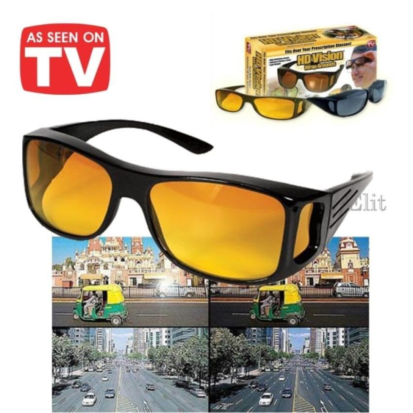 แว่นครอบกันแดด แว่นตาขับรถเวลากลางวัน / กลางคืน เพิ่มทัศนวิศัยในการมองเห็นดีขึ้น รุ่น EAGLE HD EYE VISION ออกแบบมาสำหรับสวมทับแว่นสายตา หรือจะใส่เป็นแว่นกันแดดเดี่ยวๆก็ได้ เลนส์ Polarized ช่วยตัดแสงสะท้อนต่างๆ จึงทำให้มองเห็นได้ชัดเจน