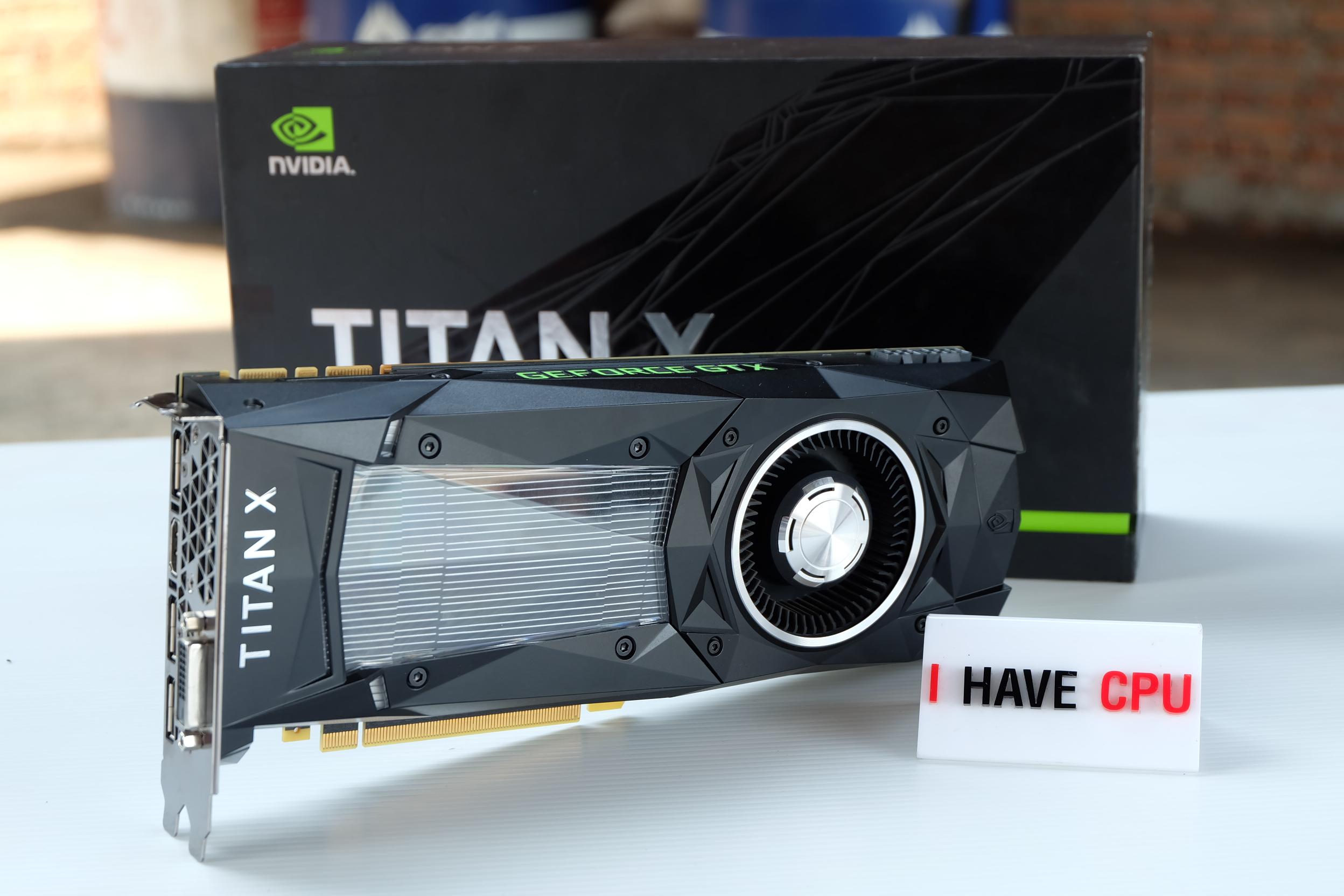 ืNVIDIA TITAN X PASCAL 12GB