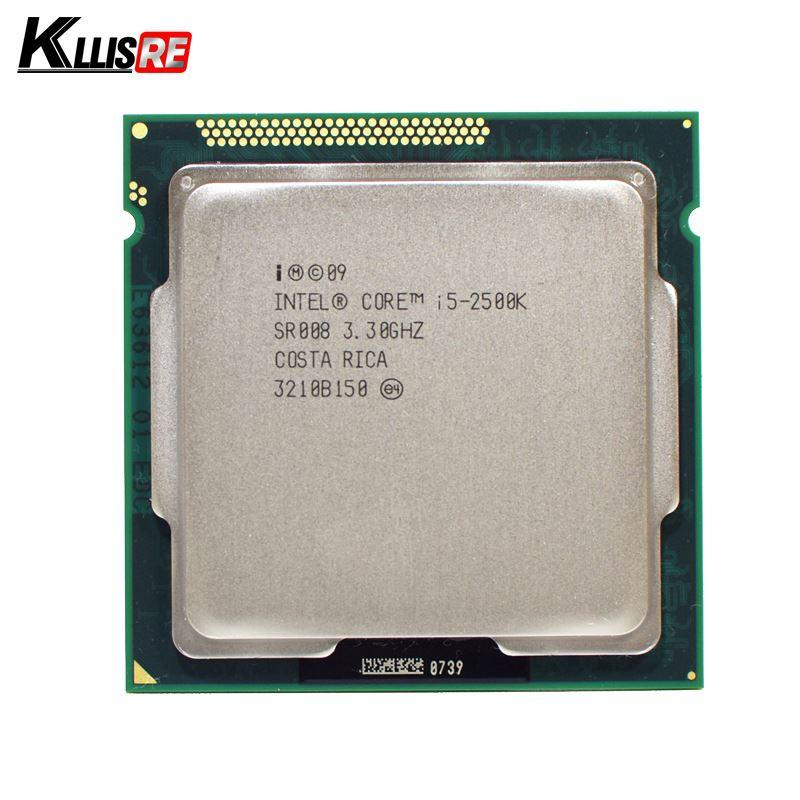 CPU i5-2500K up to 3.7Ghz