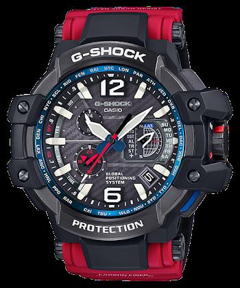 นาฬิกา Casio G-SHOCK นักบิน Limited GRAVITYMASTER GPS Hybrid Wave Captor Rescue Red series รุ่น GPW-1000RD-4AJF ของแท้ รับประกัน1ปี (นำเข้า Japan)