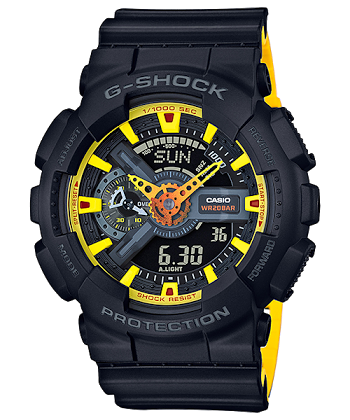 นาฬิกา CASIO G-SHOCK รุ่น GA-110BY-1A SPECIAL COLOR ของแท้ รับประกันศูนย์ 1 ปี