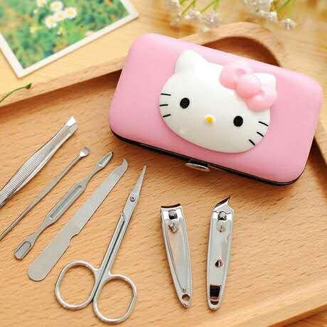 Hello Kitty ชุดตัดเล็บคิตตี้