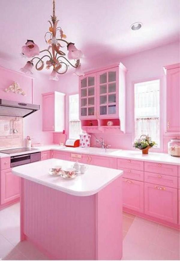ห้องครัวสีชมพู 8