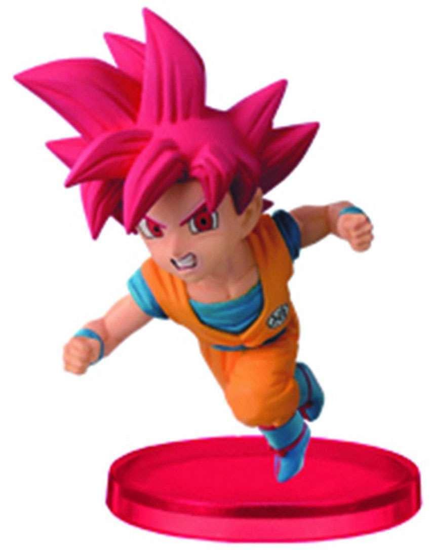 Goku Super Saiyan God ของแท้ JP แมวทอง - WCF Banpresto [โมเดลดราก้อนบอล]