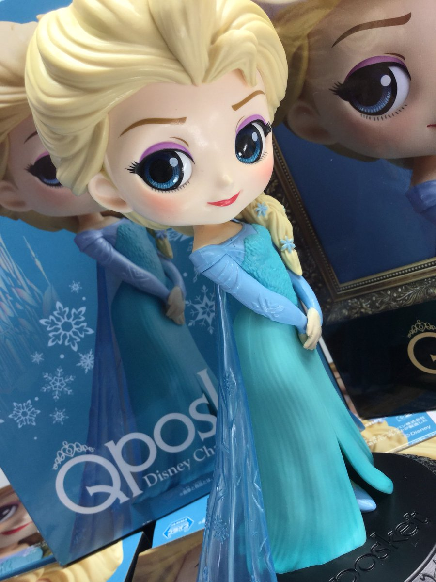Elsa ของแท้ JP - Q Posket Disney - Normal Color [โมเดล Disney]