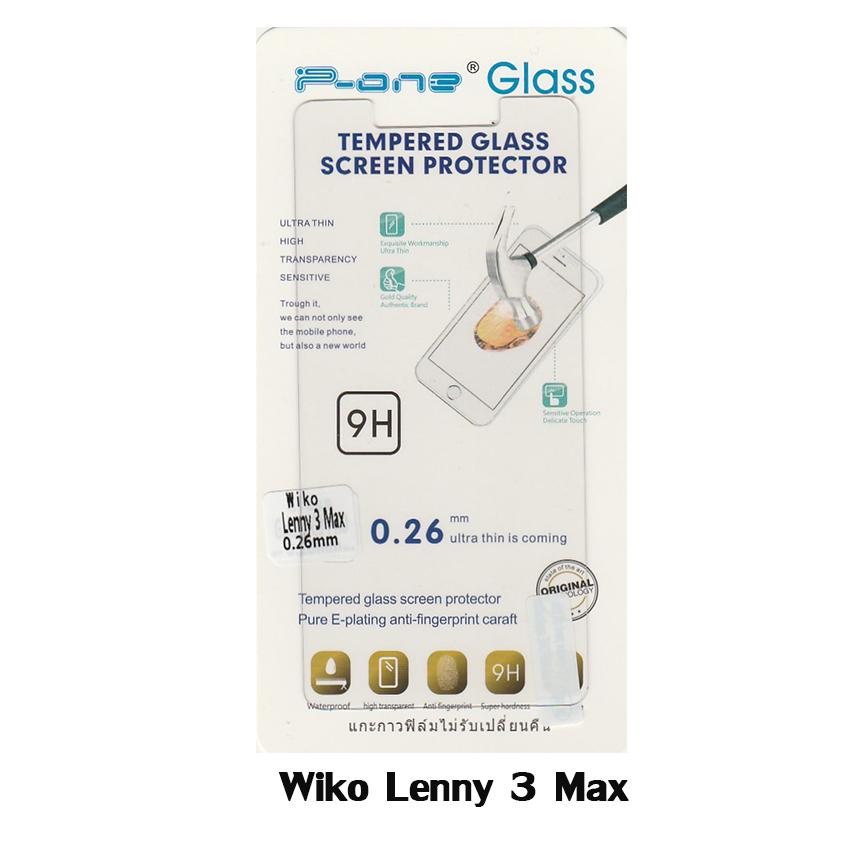 p-one ฟิล์มกระจกนิรภัย Wiko Lenny3 Max