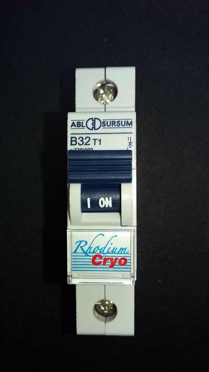 เบรกเกอร์ Powerhouse รุ่น Rhodium Cryo ชนิด 1 Pole (ลูกย่อย) ค่า32A