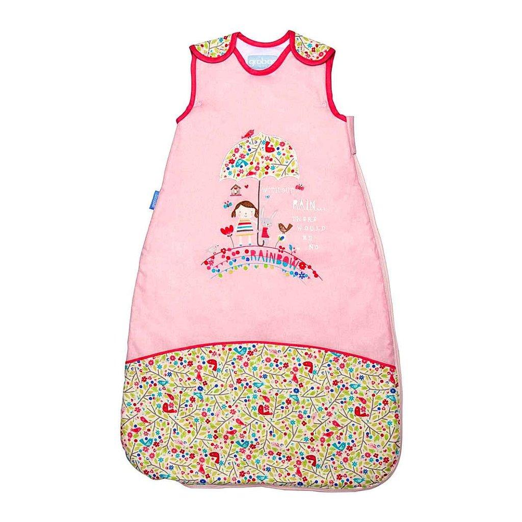 ถุงนอนเด็ก Grobag Baby Sleeping Bag 1.0 Tog, ลาย Bunny and Brolly แบรนด์ดังจากอังกฤษ ขนาด 6-18 เดือน